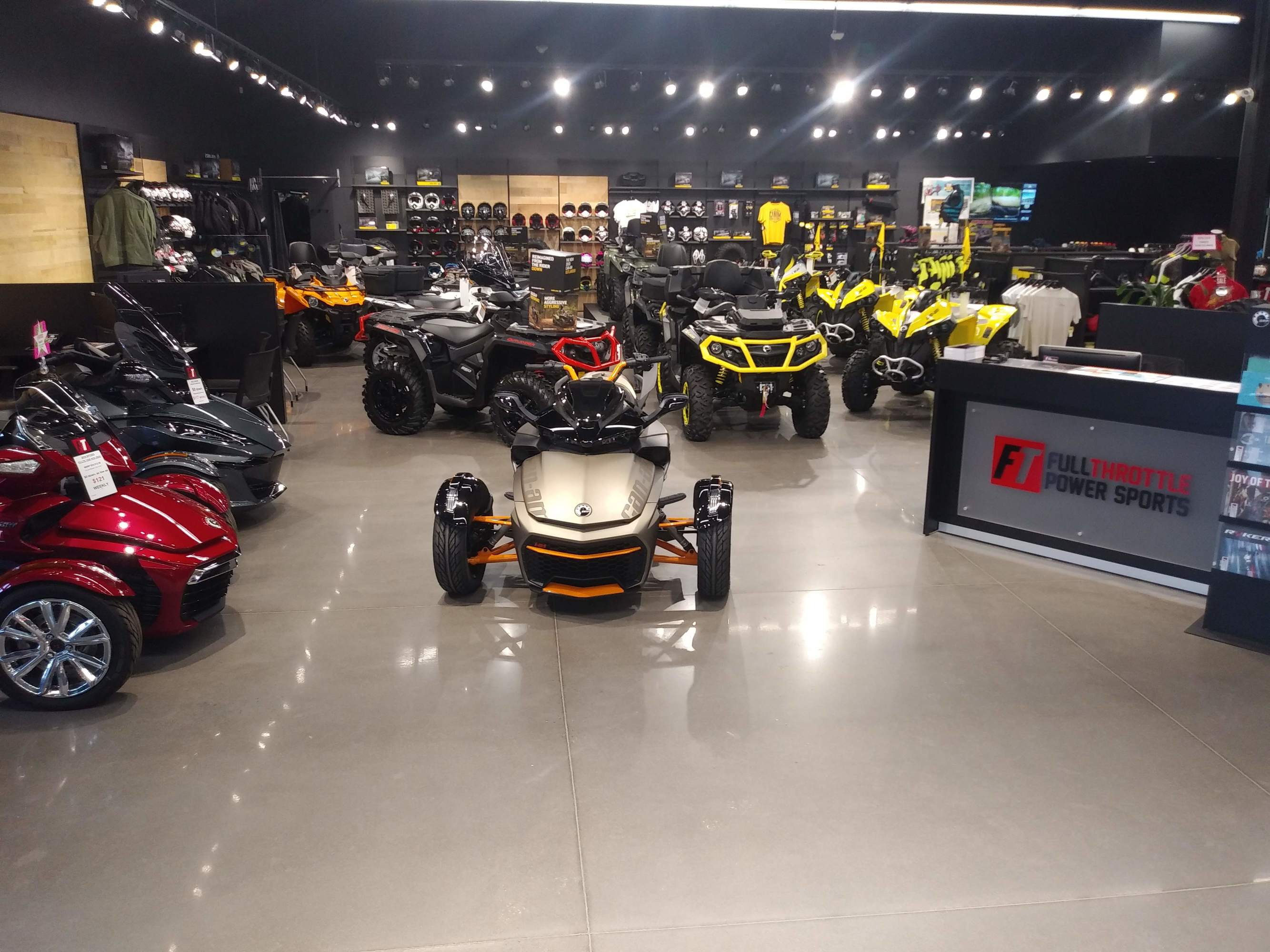Service Department | Full Throttle Power Sports | Dartmouth